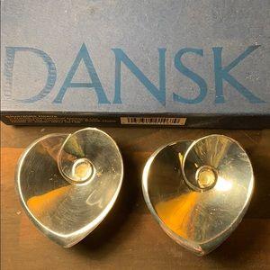 DANSK Silver plate hearts by V. Torun Bulow-Hube